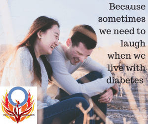 laugh at life with diabetes