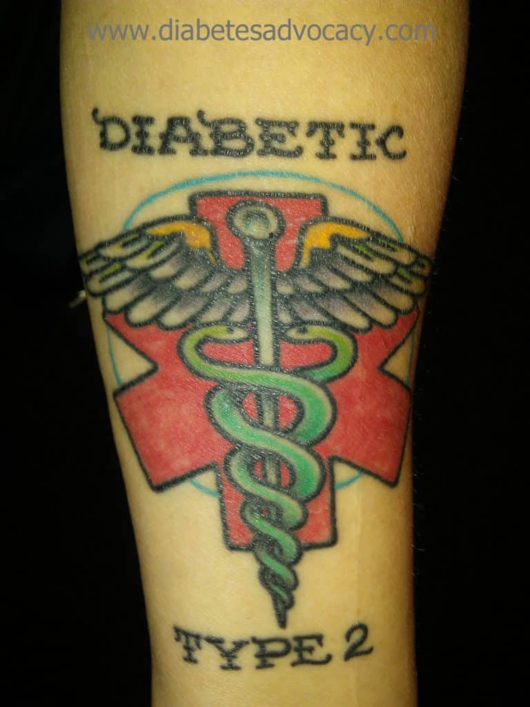 medical alert tattoo