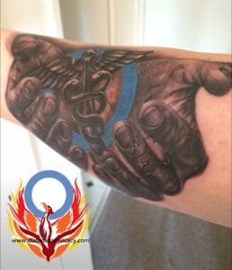 hands diabetes tattoo