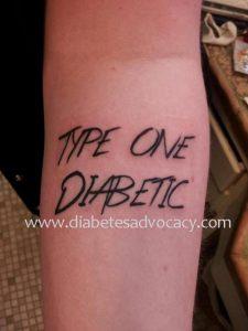 type 1 tattoo