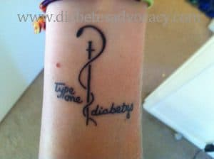 diabetes tattoo